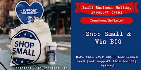 Tennyson Berkeley Small Business Holiday Passport Crawl tickets