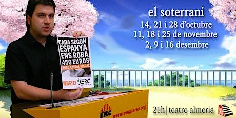 ELS SOTERRANIS DE TARDOR entradas
