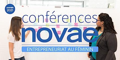 Entrepreneuriat au féminin - Conférence Novae billets