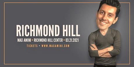 Max Amini Live in Richmondhill - 2020 World-tour **7PM SHOWTIME** tickets
