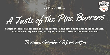 A Taste of the Pine Barrens at SW Riverdeck tickets