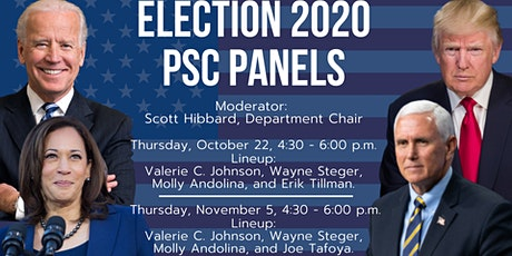 Political Science Department at DePaul presents Election 2020 tickets