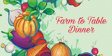 Plants 2 Table Dinner on The Farm tickets
