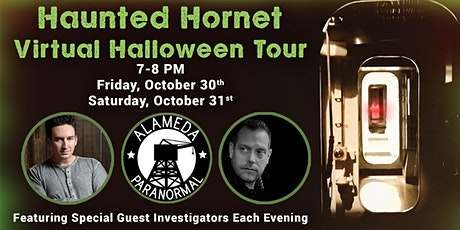 Haunted Hornet Virtual Halloween Tour Fundraiser tickets