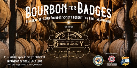 Bourbon for Badges: St. Louis Bourbon Society benefit for First Responders tickets