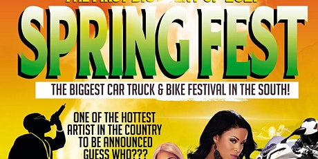 SPRINGfEST 2021-THE FIRST BIG EVENT OF 2021 tickets