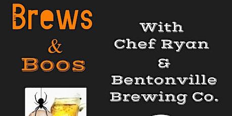 Brews & Boos with Chef Ryan & Bentonville Brewing Co. tickets