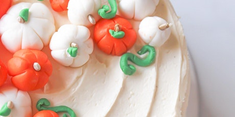Pumpkin Patch Cake Decorating Master Class