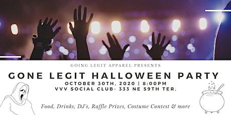 Gone Legit Halloween Party tickets