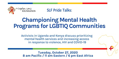 SLF Pride Talks: Championing Mental Health Programs for LGBTIQ Communities tickets