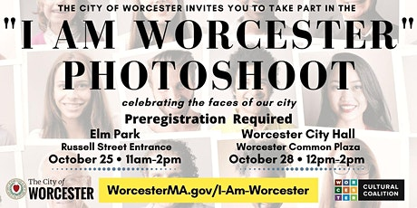 I Am Worcester Photoshoot tickets