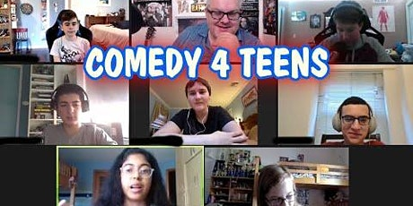 Advanced Improv Comedy 4 Teens Online Classes November full session tickets