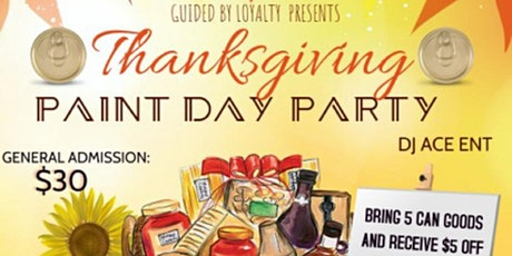 Thanksgiving Paint Day Party tickets