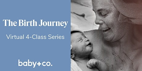 Birth Journey Childbirth + Early Parenting 4-Wk Virtual Class 1/14-2/4