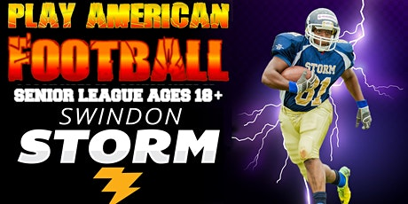 Play American Football! No obligation taster sessions for over 18s tickets