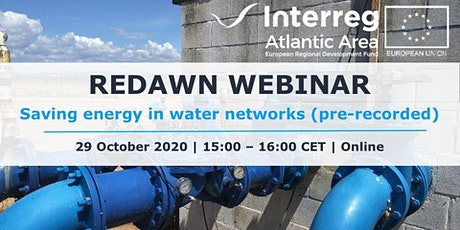 Saving energy in water networks (pre-recorded) tickets