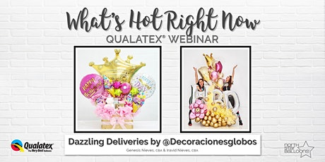 What's Hot Right Now – Dazzling Deliveries by @decoracionesglobos tickets