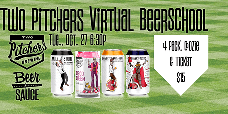 Two Pitchers Virtual BeerSchool & Meet the Pitchers! tickets