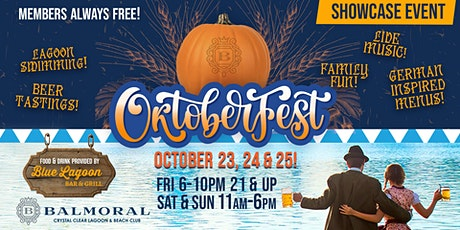 OKTOBERFEST at the Lagoon! tickets
