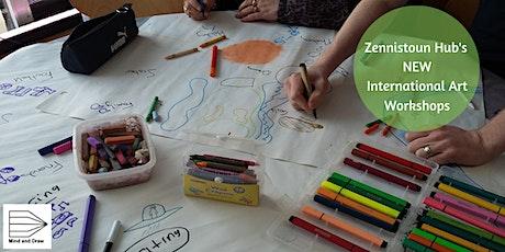 Zennistoun Hub's International Art Class: Mind and draw creative sessions tickets