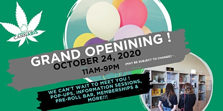 GRAND OPENING OF GREEN ROCK CANNABIS LETHBRIDGE tickets