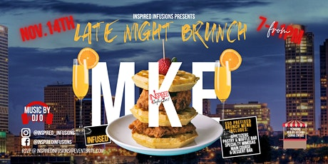 Inspired Infusions CBD  Late Night Brunch tickets