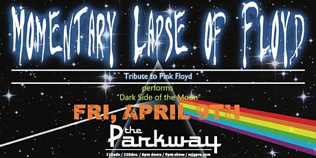 """CANCELLED: Momentary Lapse of Floyd performs """"Dark Side of the Moon"""" tickets"""