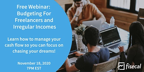 Free Webinar: Budgeting For Freelancers and Irregular Incomes tickets