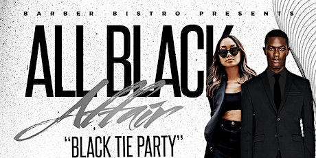 All Black Affair (Black Tie Event) tickets