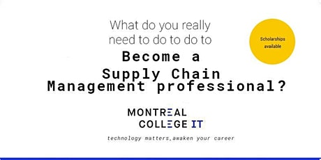 Be a Supply Chain Management professional tickets