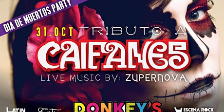 Tributo a Caifanes - Dia de Muertos (by Zupernova en vivo) - Atlanta, GA boletos