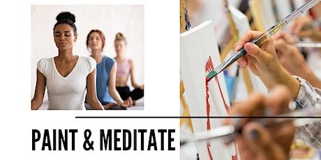 Paint & Meditate tickets