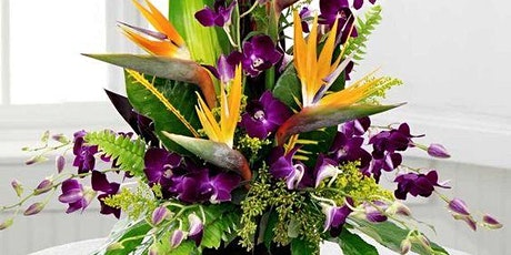 Tropical Floral Design Class tickets