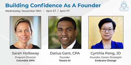 Virtual Event: Building Confidence As A Founder tickets
