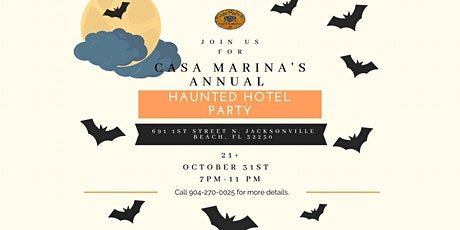 Casa Marina's Haunted Hotel Party tickets