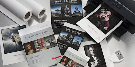 From File to Print - Why Paper Makes the Difference - Online w/ Hahnemühle tickets