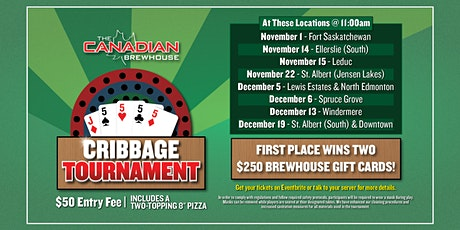 St. Albert (Jensen Lakes) Cribbage Tournament tickets