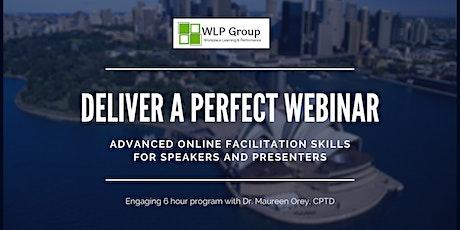 Advanced Online Facilitation Skills tickets