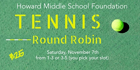 Men's and Women's Tennis Round Robin tickets