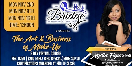 The Art and Business of Makeup Masterclass!!! tickets
