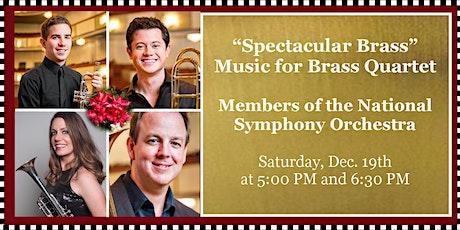 Sounds of Joy & Light: Chamber Concert - Spectacular Brass tickets