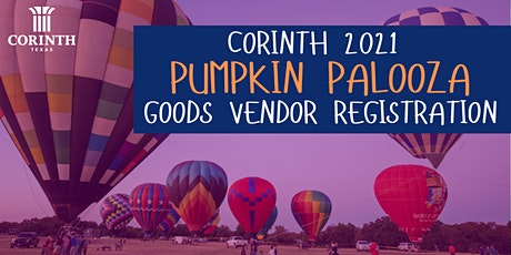 2021 Corinth Pumpkin Palooza Vendor Registration tickets