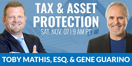 Tax and Asset Protection 11.07.2020 tickets