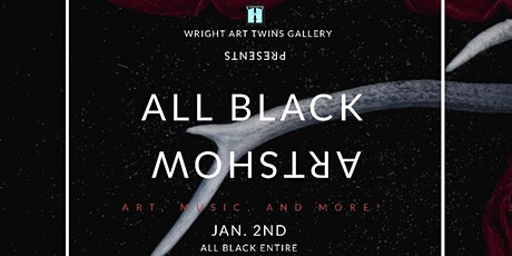 All Black Artshow tickets