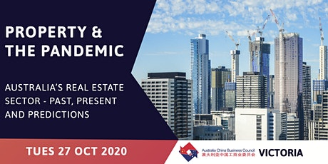 Property & the Pandemic - Australia's Real Estate Sector tickets