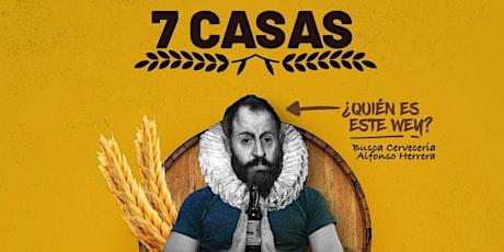 Festival cervecero 7 CASAS boletos
