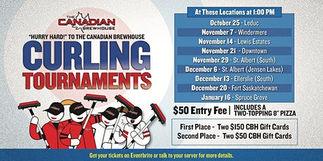 Leduc Patio Curling Tournament tickets
