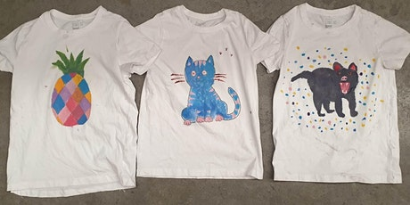 Adopted Kids' creative workshop: T shirt painting tickets