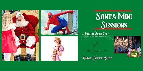 Magical Mini Sessions with Santa, Spiderman & Rapunzel tickets