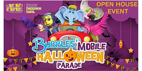 Drive-Thru Halloween Parade with Bubbles ~ OPEN HOUSE tickets
